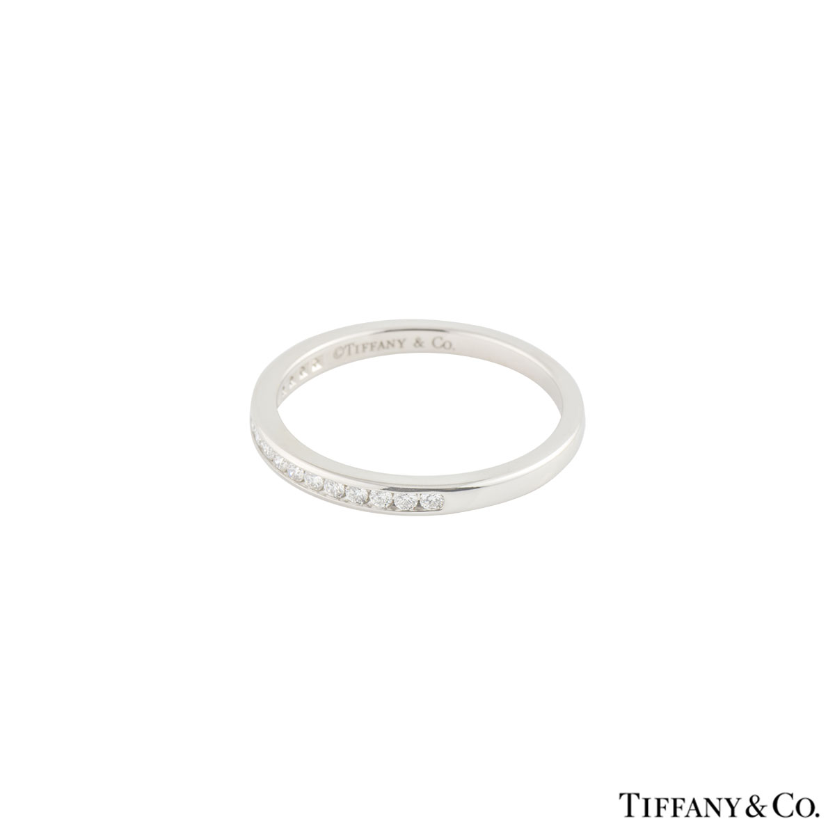Tiffany & Co. Diamond Platinum Wedding Band